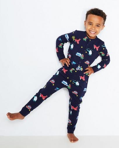 Nachtblauwe pyjama
